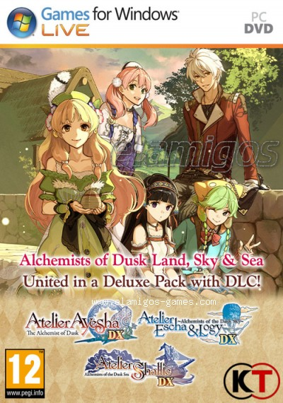Download Atelier Dusk DX Trilogy