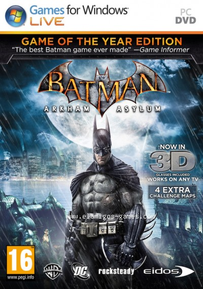 Download Batman Arkham Asylum Game of the Year Edition