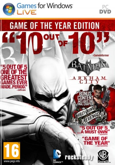 Download Batman Arkham City Game of the Year Edition