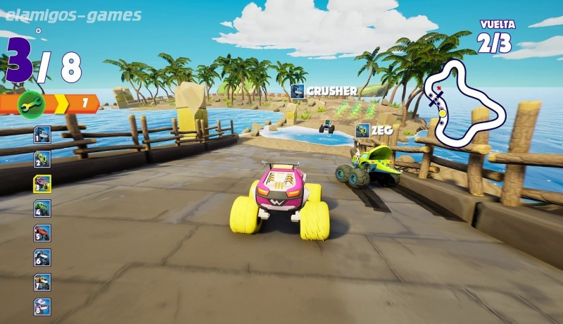 Download Blaze and the Monster Machines: Axle City Racers