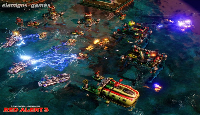 Download Command and Conquer Red Alert 3 Complete Collection
