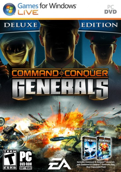 Download Command & Conquer Generals Deluxe Edition