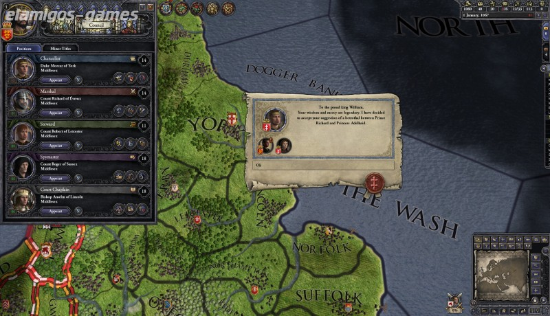 Download Crusader Kings II [PC] [MULTi4-ElAmigos] [Torrent