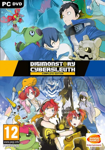 Download Digimon Story Cyber Sleuth Complete Edition