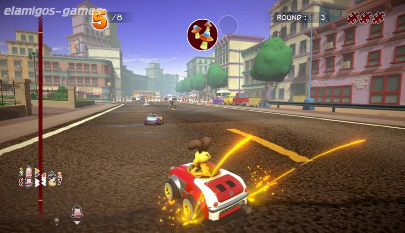 Download Garfield Kart Furious Racing