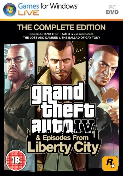 Download Grand Theft Auto IV Complete Edition [PC] [MULTi15-ElAmigos