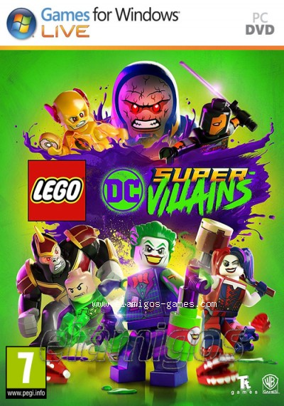 Download LEGO DC Super-Villains Deluxe Edition