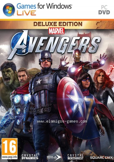 Download Marvels Avengers Deluxe Edition
