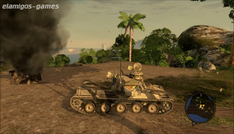 Mercenaries 2 World in Flames PC Game - Free Download Full Version