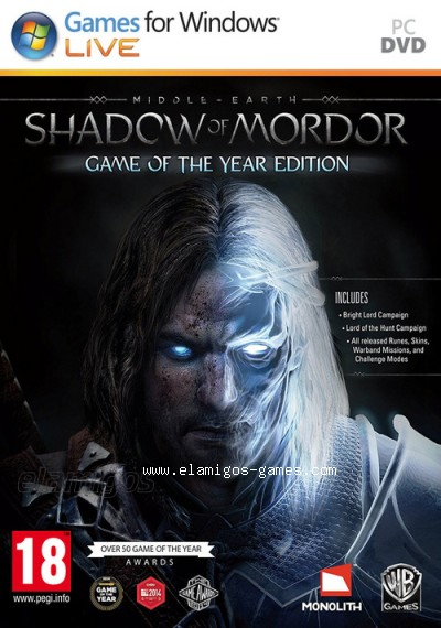 Download Middle Earth: Shadow of Mordor Complete Edition