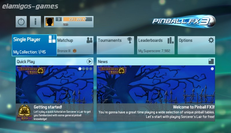 Download Pinball FX3