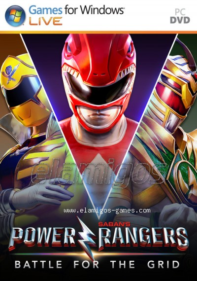 Power Rangers: Battle for the Grid (2019) MULTi5-ElAmigos, 1.17GB