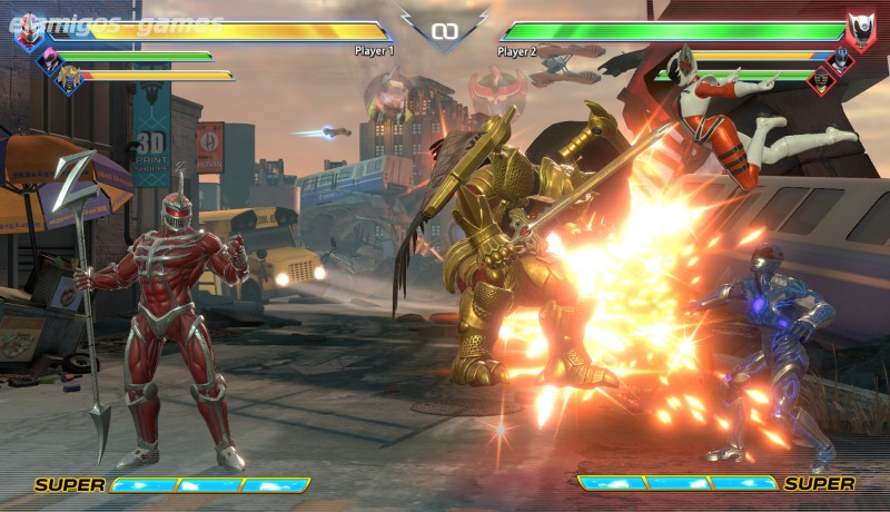 Download Power Rangers: Battle for the Grid