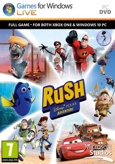 Download Rush: A Disney Pixar Adventure
