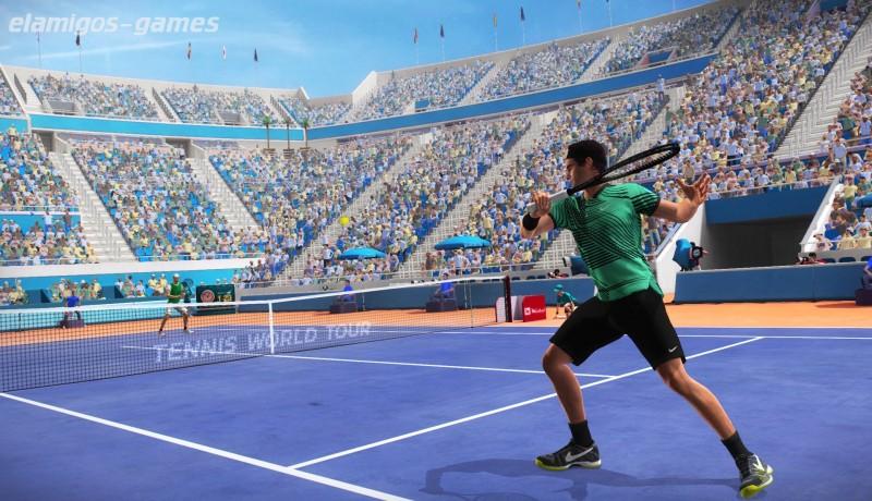 Download Tennis World Tour Legends Edition