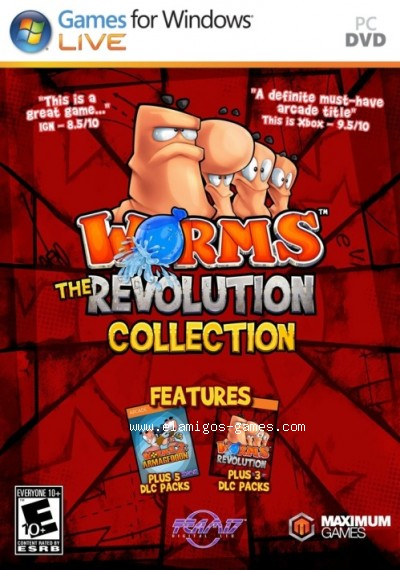 Download Worms: Revolution Collection